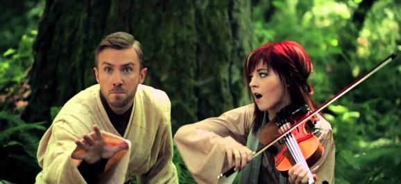 Star Wars Medley – Lindsey Stirling & Peter Hollens
